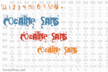 Cocaine Sans Font