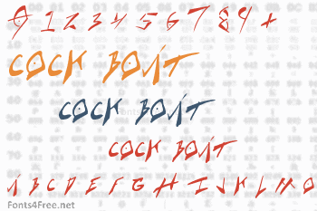 Cock Boat Font