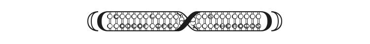 Code Of Life + Spheroids Font