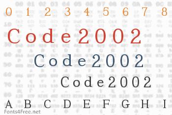 Code2002 Font