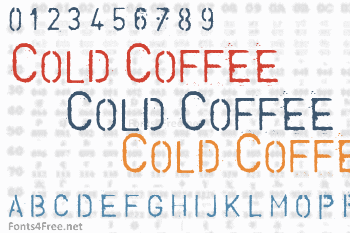 Cold Coffee Font