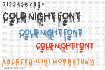 Cold Night for Alligators Font