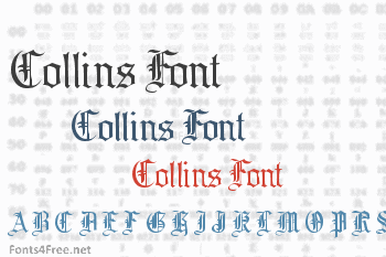 Collins Font
