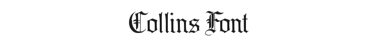 Collins Font Preview
