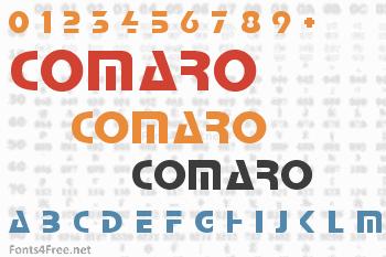 Comaro Font
