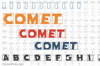 Comet Font