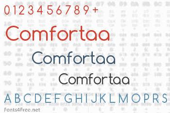 Comfortaa Font Download - Fonts4Free
