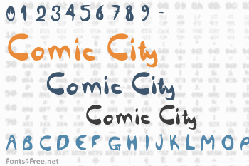 Comic City Font