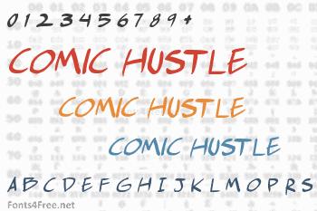 Comic Hustle Font
