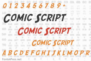 Comic Script Font