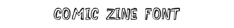 Comic Zine Font