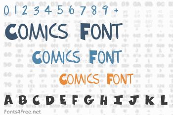 Comics Font