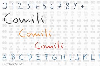 Comili Font