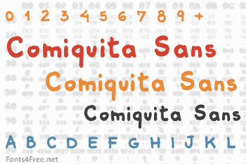 Comiquita Sans Font