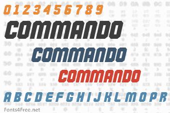 Commando Font