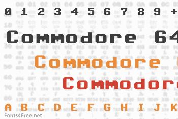 Commodore 64 Font