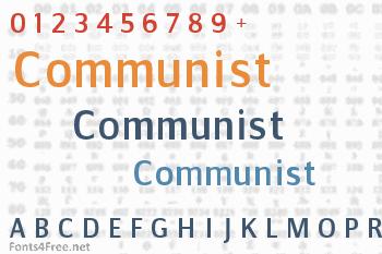 Communist Font