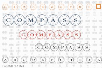 Compass Font
