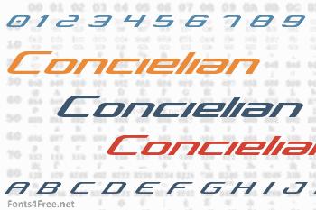 Concielian Font