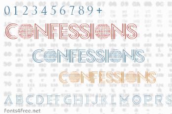 Confessions Font