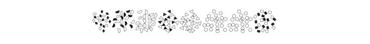 Confetti Font Preview