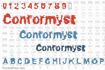 Conformyst Font