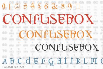 Confusebox Font
