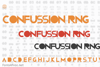 Confussion RNG Font