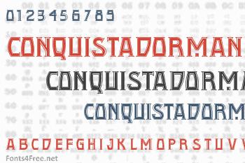 Conquistadorman Font