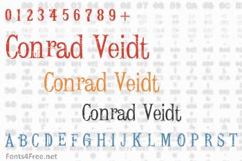 Conrad Veidt Font