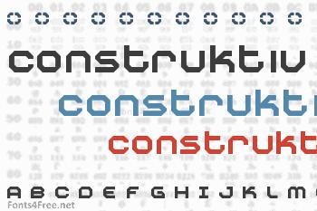 Construktiv Font