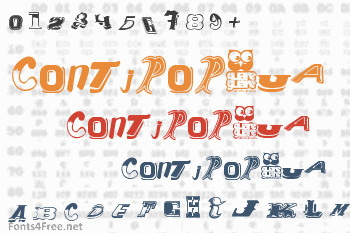 Contipopgua Font