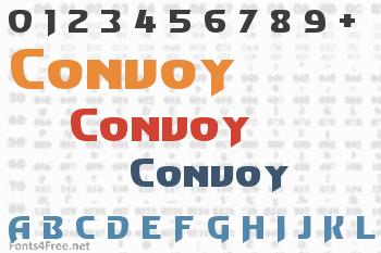Convoy Font
