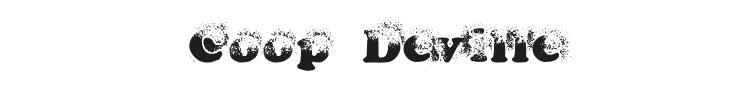 Coop Deville Font Preview