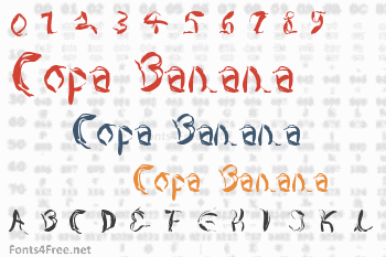 Copa Banana Font