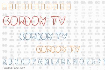 Cordon TV Font