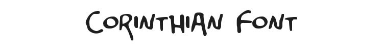 Corinthian Font Preview