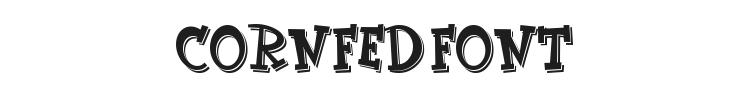 CornFed Font