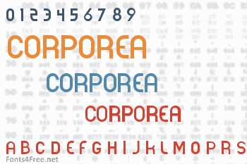 Corporea Font