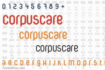 CorpusCare Font