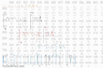 Correys Font