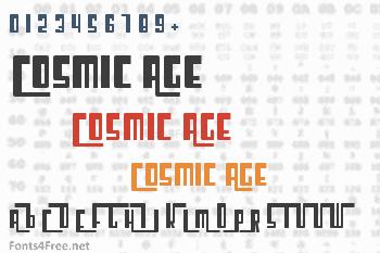 Cosmic Age Font