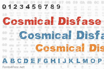 Cosmical Disfase Font