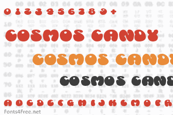 Cosmos Candy Font