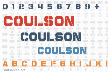 Coulson Font