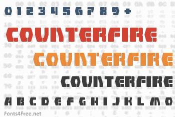 Counterfire Font