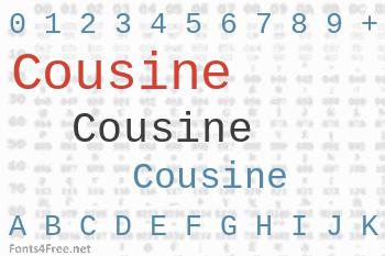Cousine Font