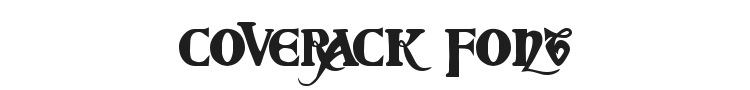 Coverack Font Preview