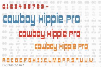 Cowboy Hippie Pro Font