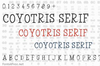 Coyotris Serif Font